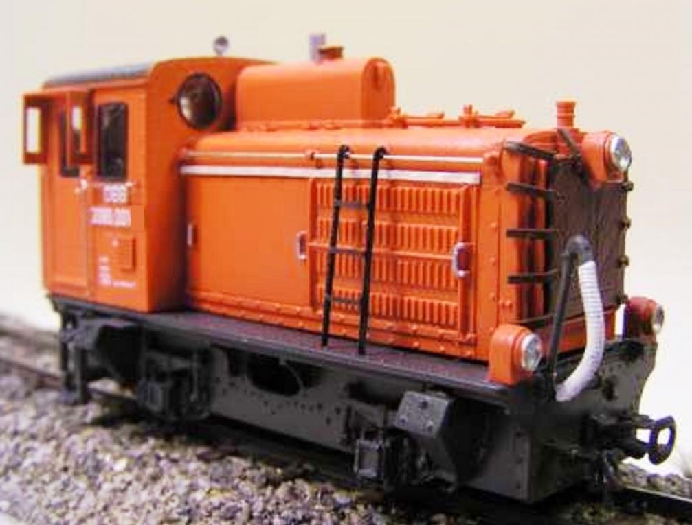Bausatz - RB 2090.01 - Schmalspurdiesellok - 2090.01 - Blutorange ...