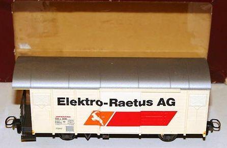 bemo 2283 136 werbewagen gedeckter g terwagen mit korbbogdach gbk v 5606 elektro raetus. Black Bedroom Furniture Sets. Home Design Ideas